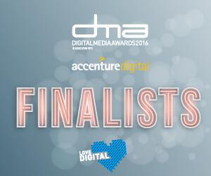 Accenture Digital Media Awards 2016
