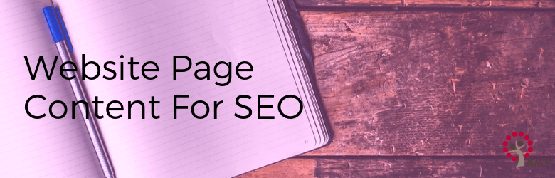"""Web page content for SEO"""