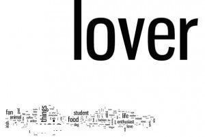 Irish Twitter Lovers Tag Cloud By Wordle