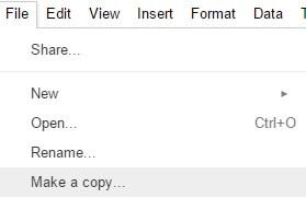 Google Drive File Make A Copy