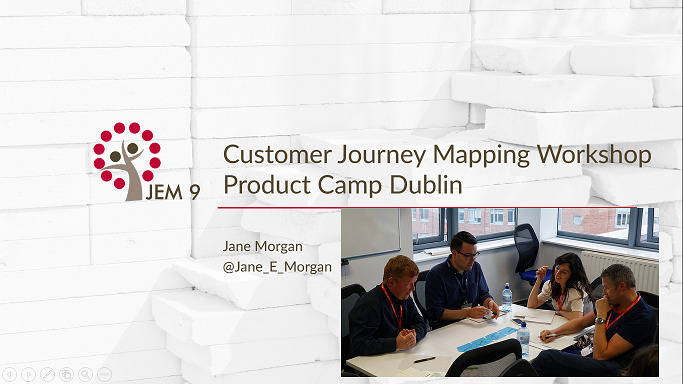 Customer Journey Mapping Workshop Product Camp Dublin