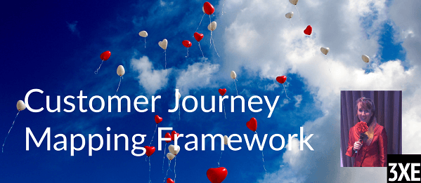 Jane At The Customer Journey Mapping Framework at 3XE Digital