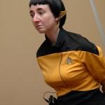 Jane Morgan Dressed As Vulkan