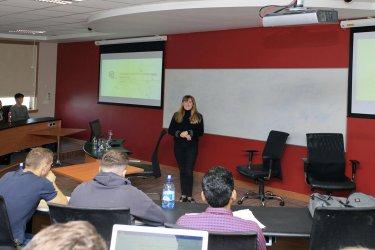 Jane Presenting At WIT on Marketing Web Analytics