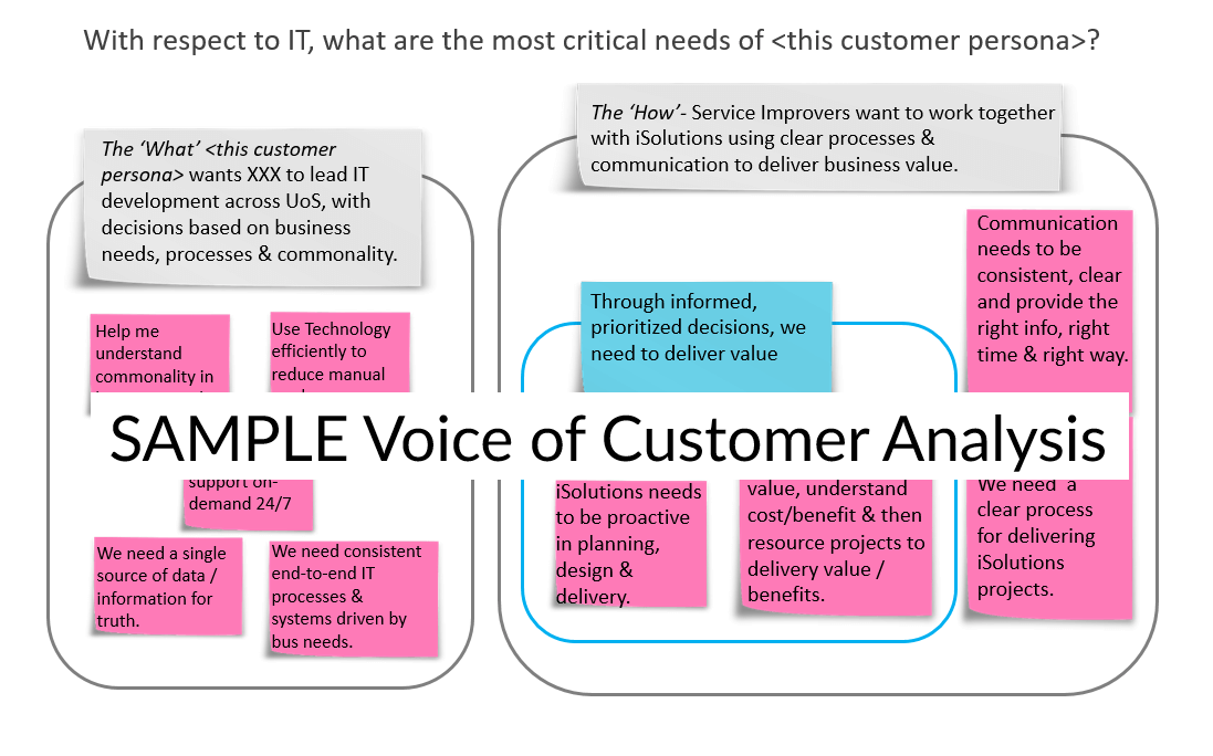 Case Study Sample B2B Voice of the Customer Analysis